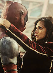 Картина GeekLand Deadpool Дэдпул Уейд Вілсон і Ванесса 40х60см DP.09.121