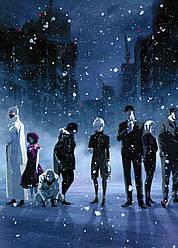 Картина GeekLand Tokyo Ghoul Токійський гуль герої аніме 40x60 TG 09.016