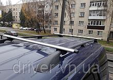 Багажник на рейлінги, поперечини (алюміній) 140см \ 85кг. (2 планки)