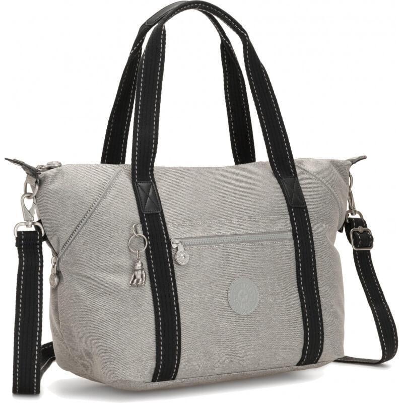 Женская сумка Бельгия 44*27*20 см. серая 220403