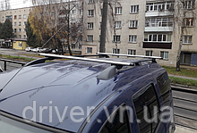 Багажник на рейлінги, поперечини (алюміній) 130см \ 85кг.
