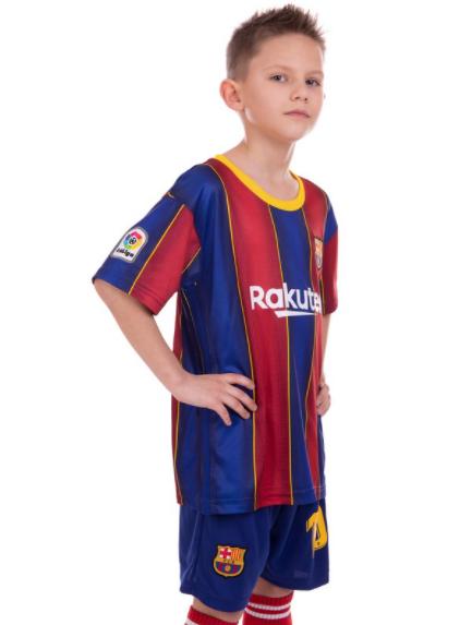Форма футбольная детская BARCELONA MESSI 10 домашняя 2021 co2463 р.28