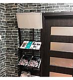 Самоклеюча декоративна 3D панель під сірий катеринославський цегла 3д самоклейка для стін, фото 4
