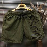 Мужские летние шорты модные, шорты для пляжа BOSS (реплика)