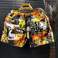 Модные мужские шорты летние, летние легкие шорты Nike (реплика)