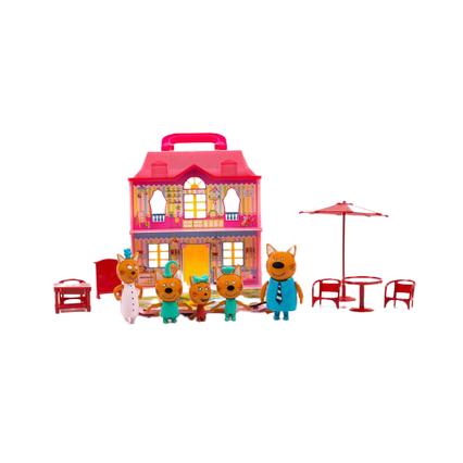Набір Три Кота і Кішечка M-8804 - автобус розкладний