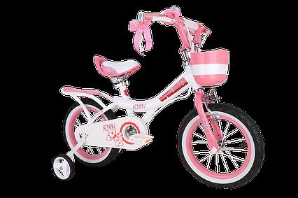 Дитячий велосипед Royal Baby Princess Jenny Girl Steel RB16G-4 РОЖЕВИЙ