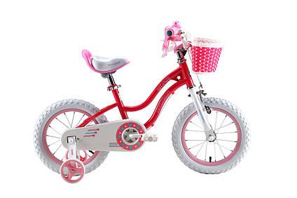 Дитячий велосипед Royal Baby Stargirl RB16G-1 РОЖЕВИЙ