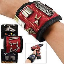 Магнитный браслет для инструментов на руку со встроенными суперсильными магнитами