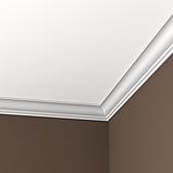 Карниз 6,50,105 для потолка с композиту екструдируваный Европласт, фото 2
