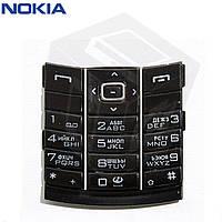 Клавиатура для Nokia 8800, оригинал (черная)