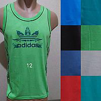 Мужская трикотажная борцовка Adidas размер норма 48-52, цвета миксом