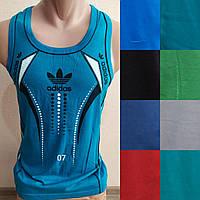 Чоловіча трикотажна борцовка Adidas розмір норма 48-52, колір міксом