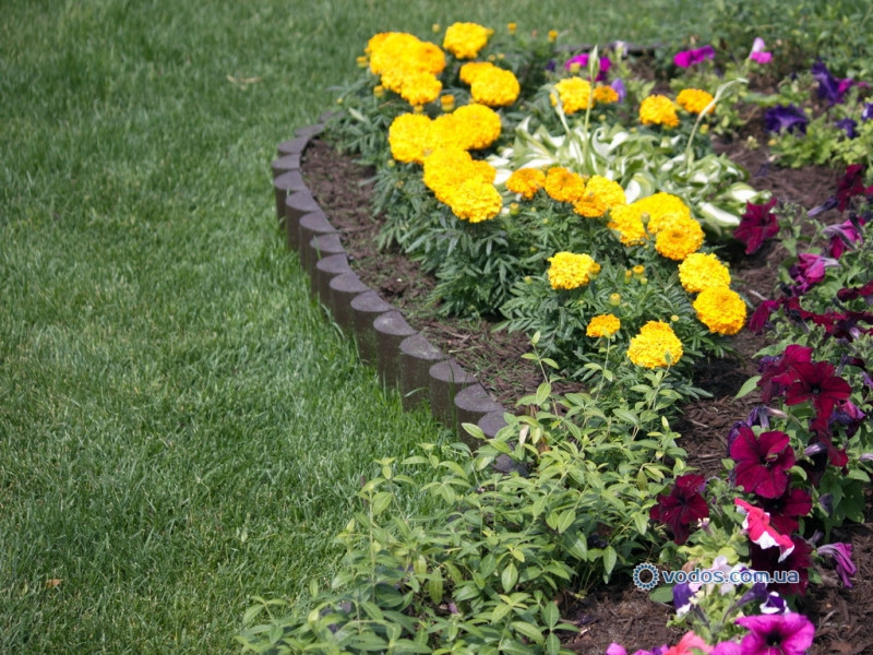 Декоративный заборчик для сада-  3 метра в упаковке, садовый бордюр - Палисад Клумба