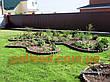Декоративный заборчик для сада-  3 метра в упаковке, садовый бордюр - Палисад Клумба, фото 5