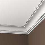 Карниз 6,50,108 для потолка с композиту екструдируваный Европласт, фото 2