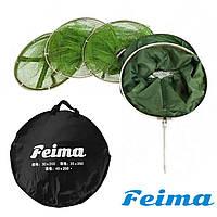 Рыболовный садок круглый прорезиняный Feima 40*200 см.