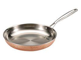 Сковорода из нержавеющей стали 28х5 см Bergner Infinity Chefs De Lux BGIC-3662