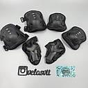 Комплект підліткової захисту, налокітники, наколінники, рукавички, фото 8