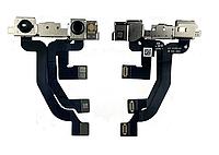 Шлейф для iPhone XS, с фронтальной камерой, оригинал (Китай)