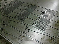 Штамповка листового металла от 0.5 до 5мм, гибка, сварка, порошковая покраска