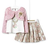 Комплект для дівчинки 3 в 1 Have a good day, рожевий Baby Rose