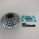 Тріскачка для велосипеда на 7 швидкостей хромована, фото 2