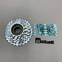 Тріскачка для велосипеда на 7 швидкостей хромована, фото 3