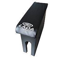 Подлокотник ВАЗ 2106 ЧЕРНЫЙ (с вышивкой)