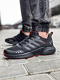 Кроссовки мужские 18564, Adidas Climacool, черные [ 46 ] р.(43-27,5см), фото 2