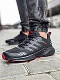 Кроссовки мужские 18564, Adidas Climacool, черные [ 46 ] р.(43-27,5см), фото 3