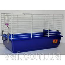 Клетка для морских свинок и кроликов с кормушкой и поилкой (62*35*38 см)