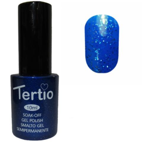 Гель-лак Tertio №078 (лазурный с блестками)