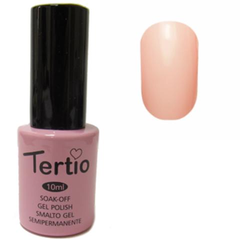 Гель-лак Tertio №098 (бледная розово-оранжевая эмаль)