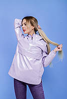 Анорак женский Unique лиловый   Ветровка женская весенняя осенняя   Куртка женская демисезонная ЛЮКС качества