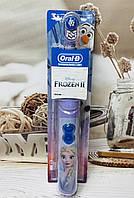 """Детская электрическая зубная щётка Oral-B """"Холодное сердце"""""""