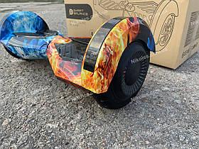Гироборд Smart Balance Гироскутер 8 дюймов от 4х лет Огонь и Лед + ПОДАРОК СУМОЧКА