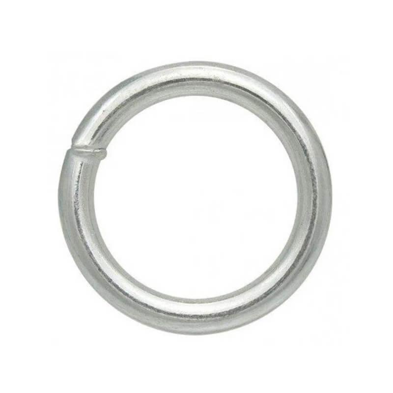 Кольцо сварное оцинкованное 6×40