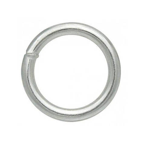 Кольцо сварное оцинкованное 6×40, фото 2