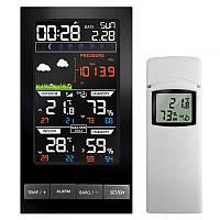Домашня метеостанція з бездротовим датчиком, гігрометром і барометром Vlike VL2810 100143, КОД: 1625055