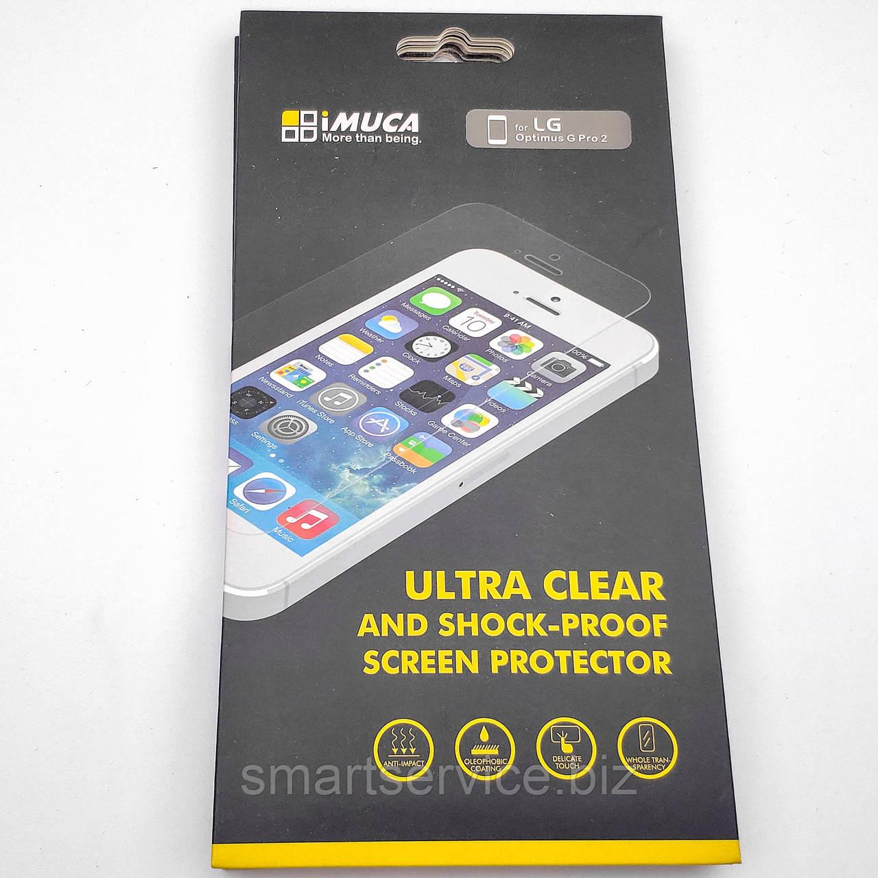 Защитная пленка IMUCA Ultra Clear Shock-Proof для LG Optimus G Pro 2