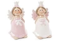 Декоративна керамічна фігурка Ангел, 2 види, 8см BonaDi 834-792