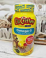 Детская омега 3 L´IL CRITTERS Omega 3, 120шт