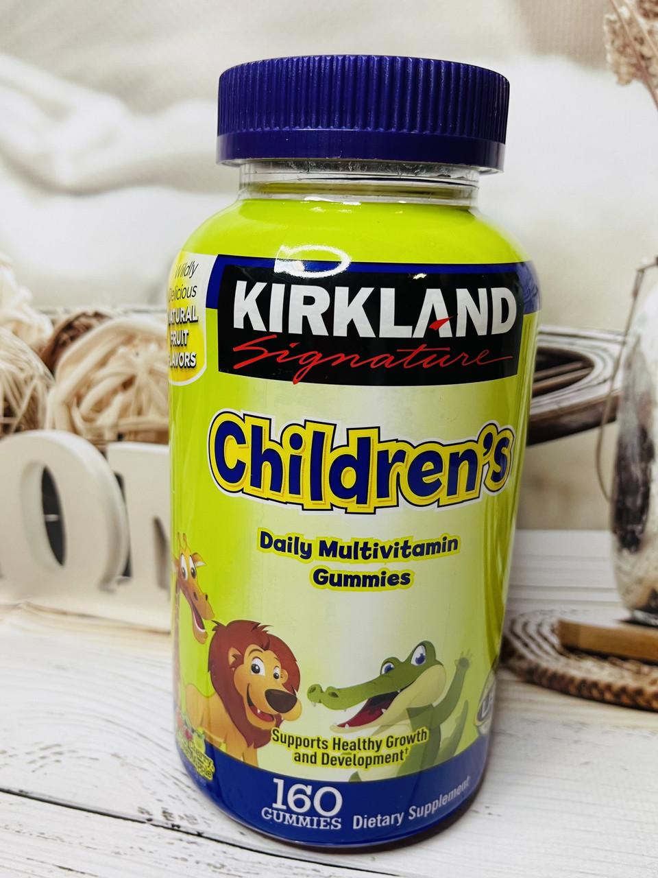 Детские Мультивитамины Kirkland Children's Complete Multivitamin