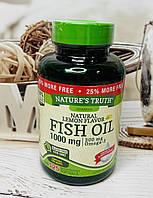 Рыбий жир в капсулах Nature's Truth Fish Oil, 125 капсул, фото 1