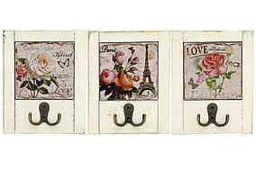 Вішалка з подвійним гачком Roses 18см, 3 види BonaDi 487-108