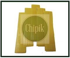 Двухсторонний скотч для тачскрина, дисплея Лист 106mm * 22mm порезанный на полоски шириной от 1 до 2mm