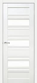 Двері міжкімнатні Оміс Dora 03 G скло сатин Дуб ivory, 600