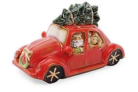 Декор новогодний фарфоровый Машина с LED-подсветкой BonaDi 197-701