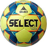 Мяч футзальный SELECT Futsal Mimas IMS размер 4 полиуретан для мини-футбола и футзала (105343)